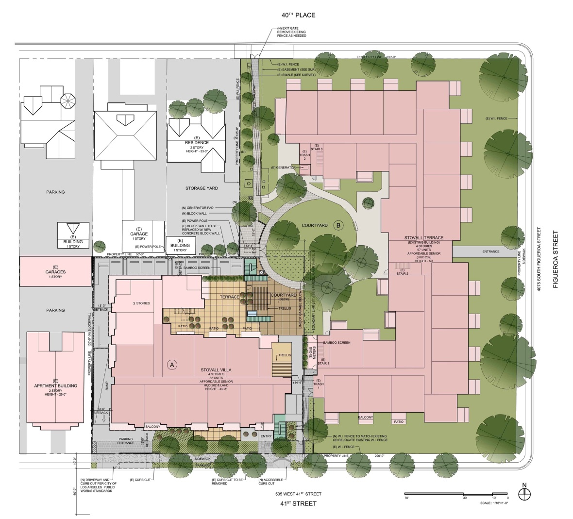 colored site plan24X36_061609