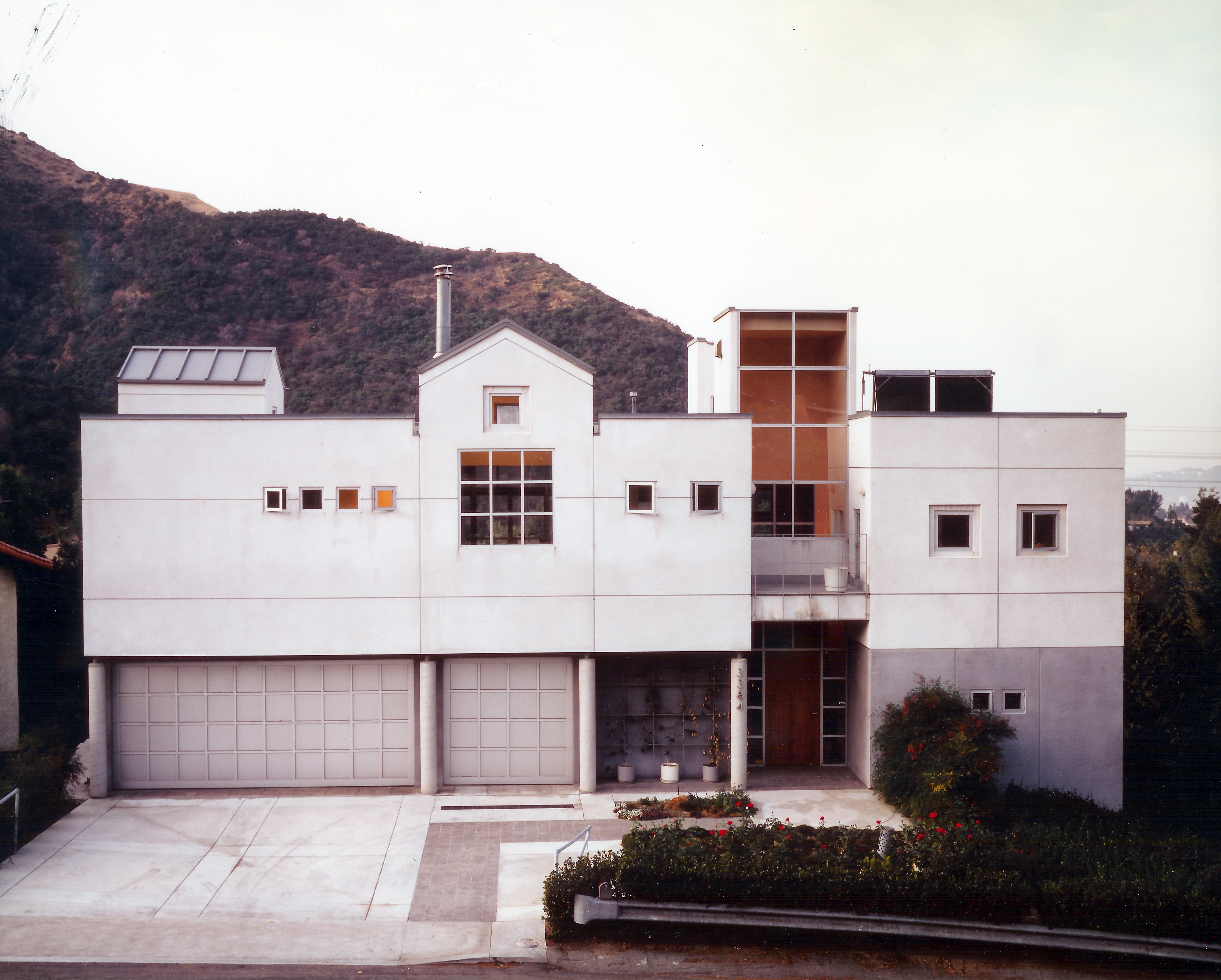 The Building As Context Is Designed To Continue The Building Edge Along The  Street, And To Respect The Adjacent Buildings Height, Stucco Materials And  ...