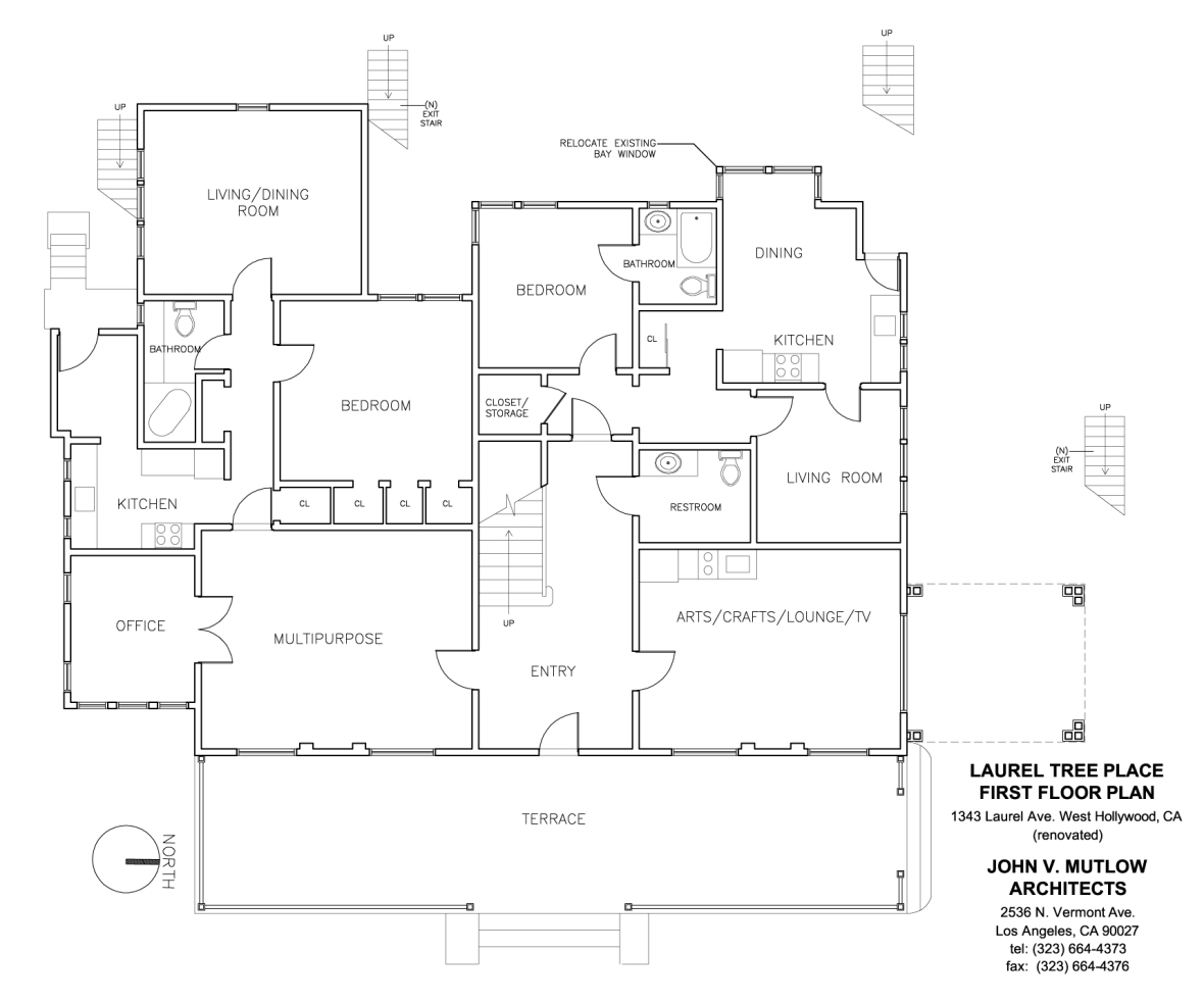 Laurel Tree House First Floor Plan copy