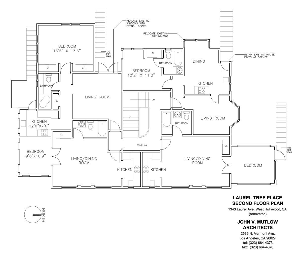 Laurel Tree House Second Floor Plan copy